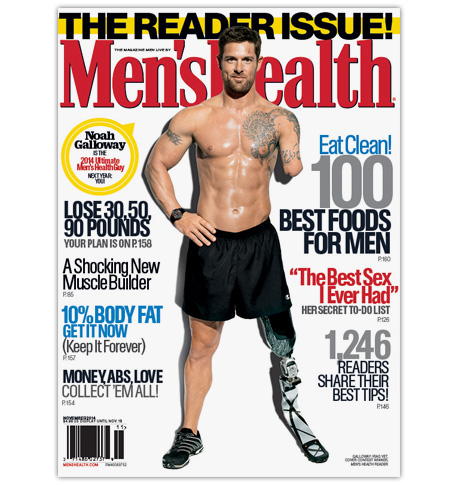 Men's Health 2014 Ultimate Guy contest winner